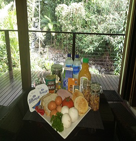 Cape Tribulation Accommodation Breakfast Hamper